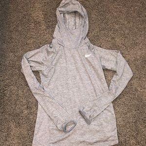 Nike dri-fit sweatshirt size small
